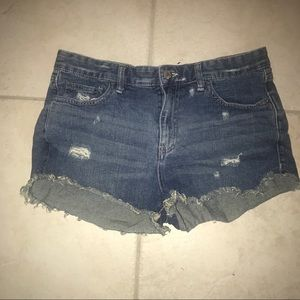 Free People Distressed Denim Jeans, Size 30